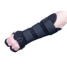 Szyna na dłoń i przedramię z ujęciem kciuka - lewa ręka